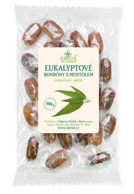 Cukríky EUKALYPTUS