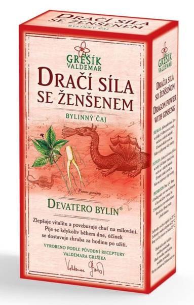 Bylinný čaj DRAČIA SILA (zlepšuje vitalitu a zvyšuje libido)