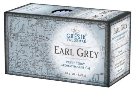 Čierny čaj EARL GREY (sáčkový)
