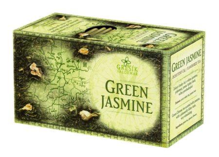 Zelený čaj JASMÍNOVÝ (sáčkový)