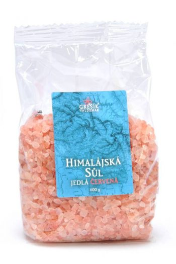 Himalájska soľ – Červená