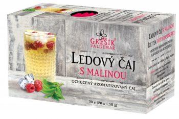 Ľadový čaj MALINOVÝ (sáčkový)