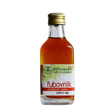 Bylinný olej ĽUBOVNÍK