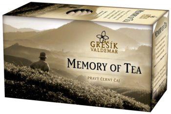 Čierny čaj MEMORY OF TEA (sáčkový)