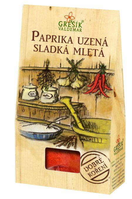 Korenie Paprika údená sladká mletá