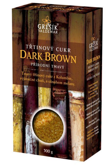Trstinový cukor DARK BROWN (prírodný tmavý)