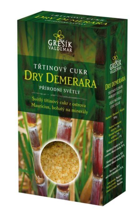 Trstinový cukor DRY DEMERARA (prírodný svetlý)