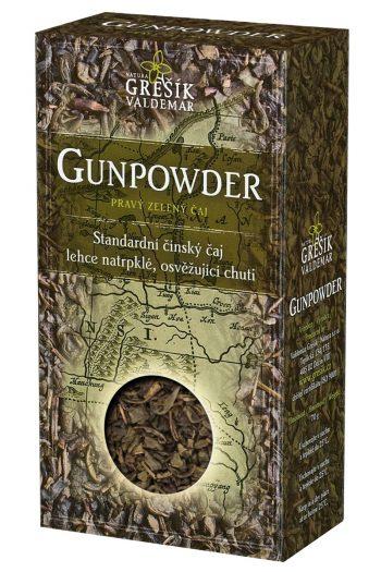 Zelený čaj GUNPOWDER (sypaný)